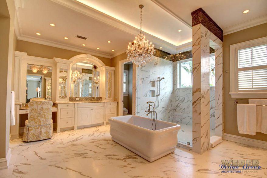 prestige master bathroom