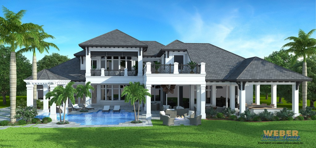 Golf dream home in talis park naples florida for Dream home design