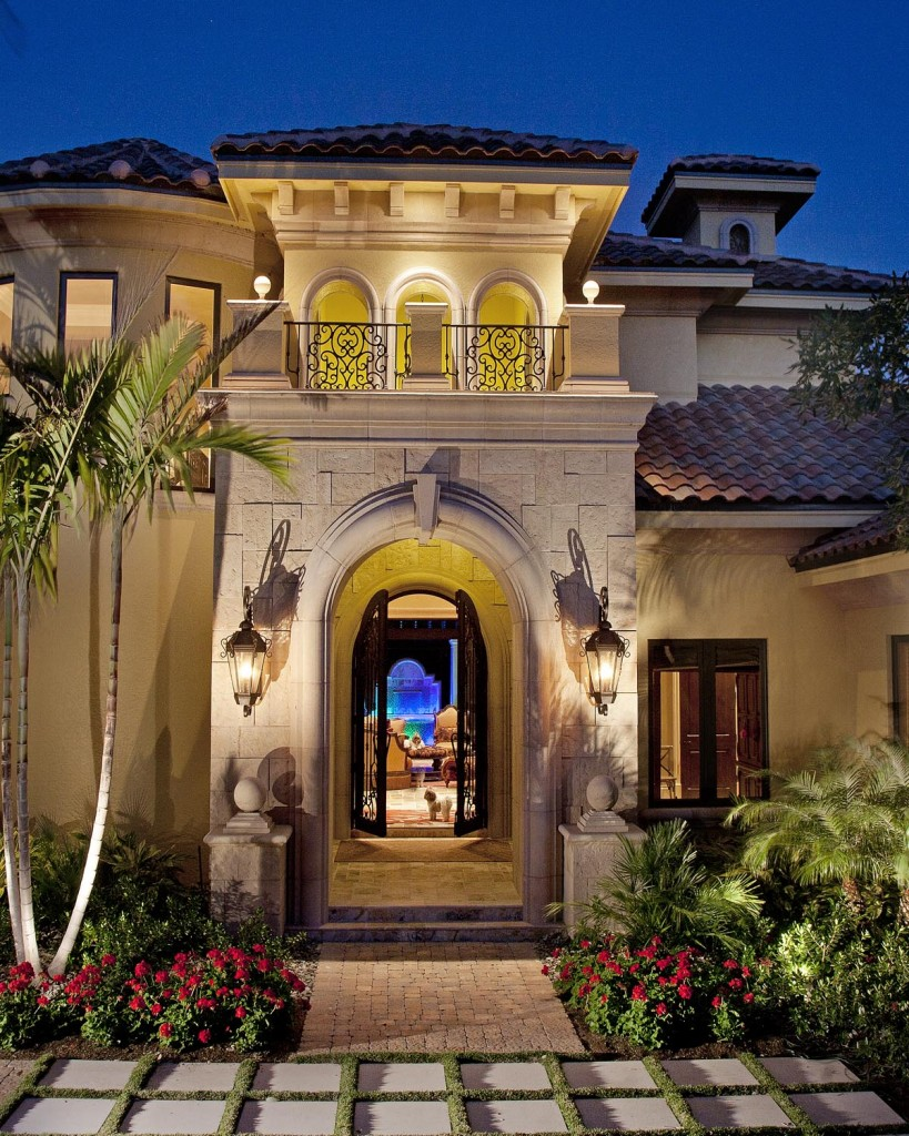 Mediterranean architecture for naples florida weber for Florida mediterranean style homes