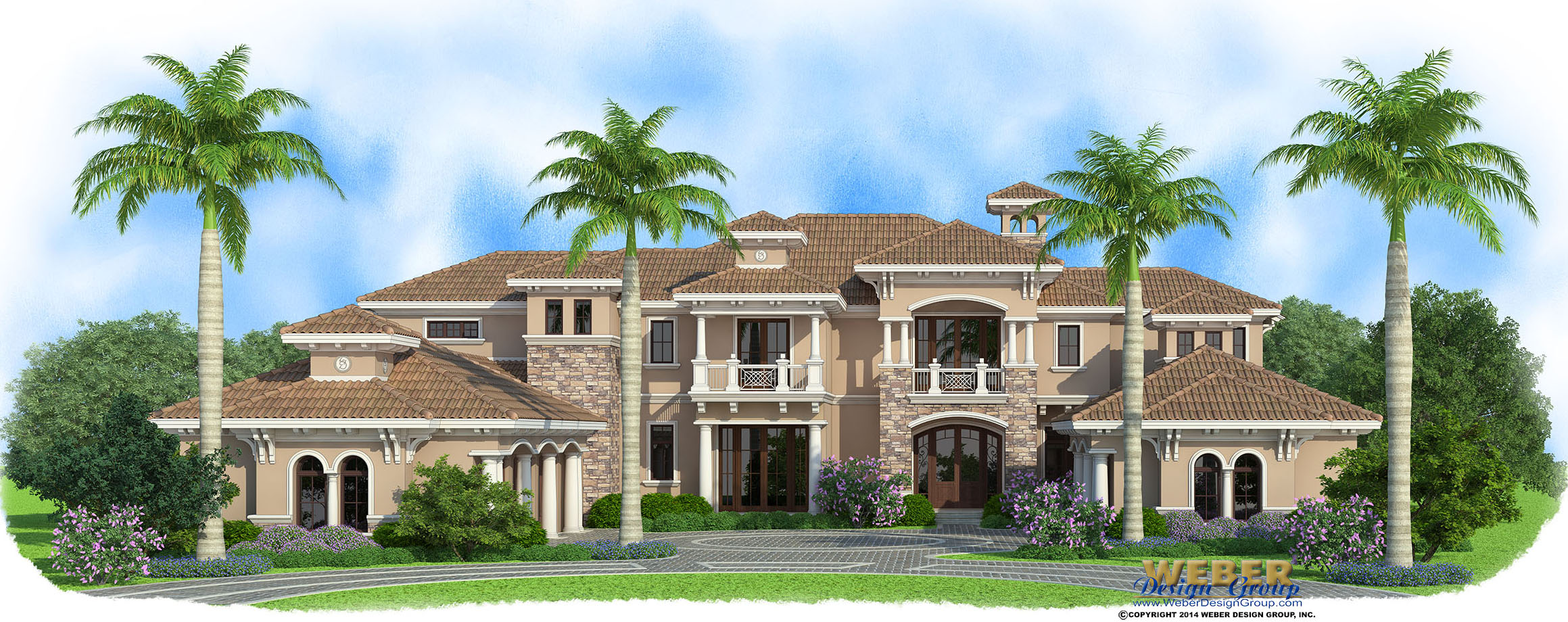Golf Course Estate Home By Naples Architect Weber