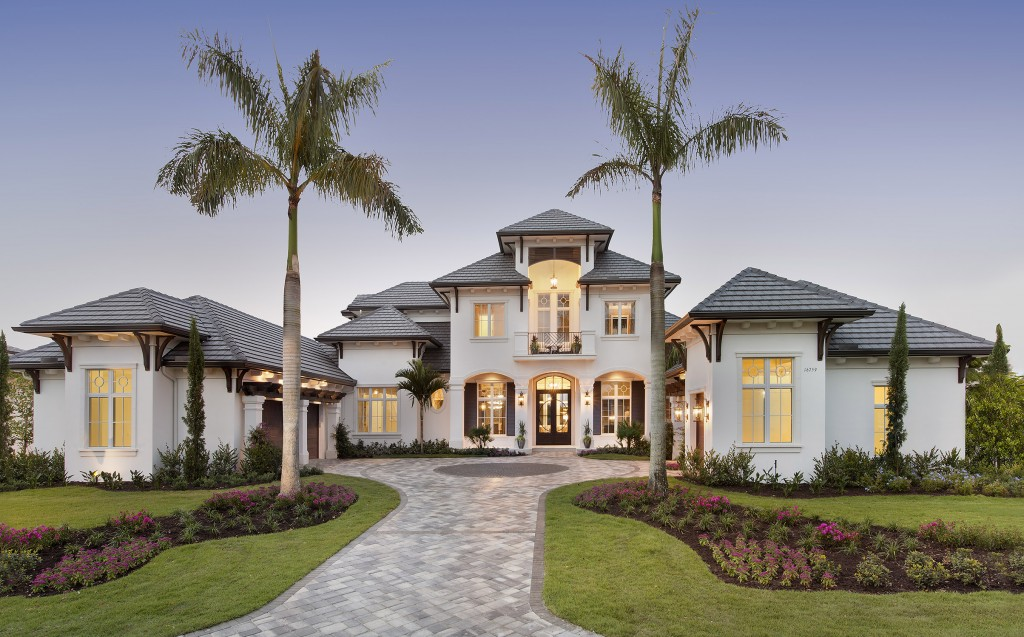 Naples architect designs golf magazine dream home plan for Dream home house plans