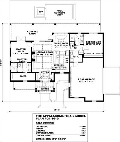 Autocad generated 2D black & white floor plan