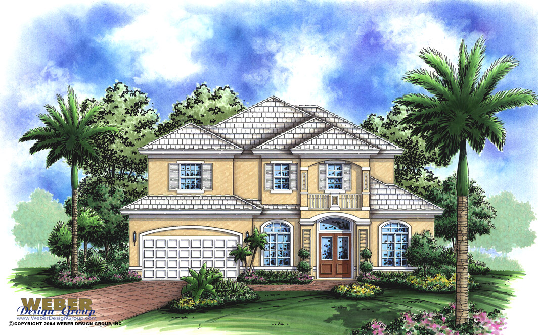 Pelican Bay Home Plan - Weber Design Group; Naples, FL. on thorne bay house plan, shenandoah house plan, grouse house plan, renaissance house plan, elm grove house plan,