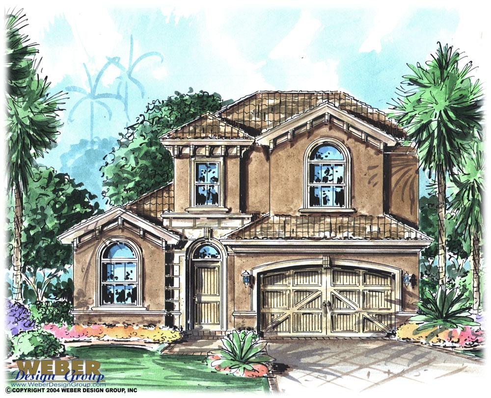 Florence home plan weber design group naples fl for Weber design group
