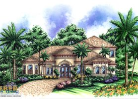 Royal Palm House Plan