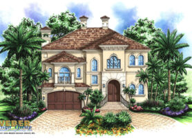 Saint Tropez House Plan