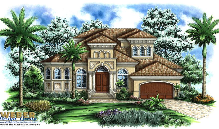 Mediterranean house plan 2 story narrow lot mediterranean for Narrow lot mediterranean house plans