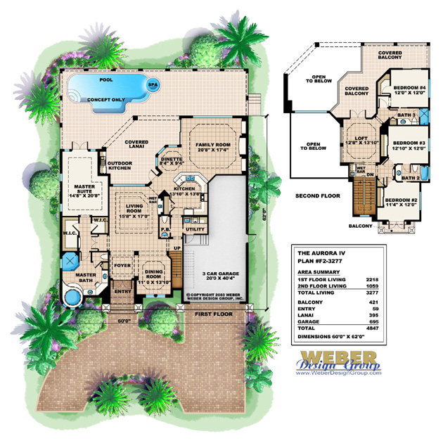 Good Aurora IV House Plan