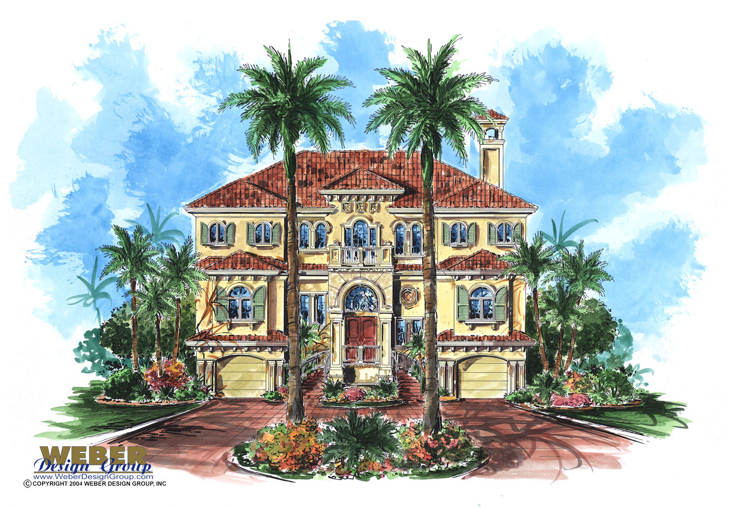 Mediterranean house plan 3 story luxury beach home floor plan for 3 story beach house floor plans