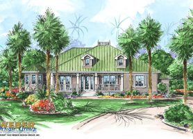 Cape Sabal House Plan