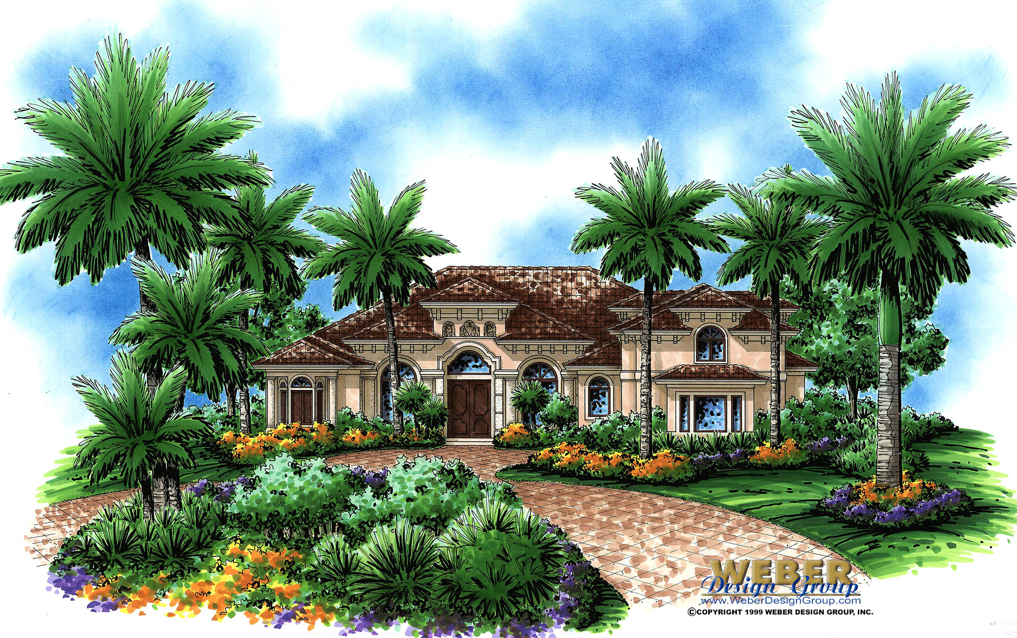 Mediterranean house plan unique 2 story tuscan home floor plan