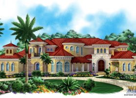 Villagio Toscana House Plan