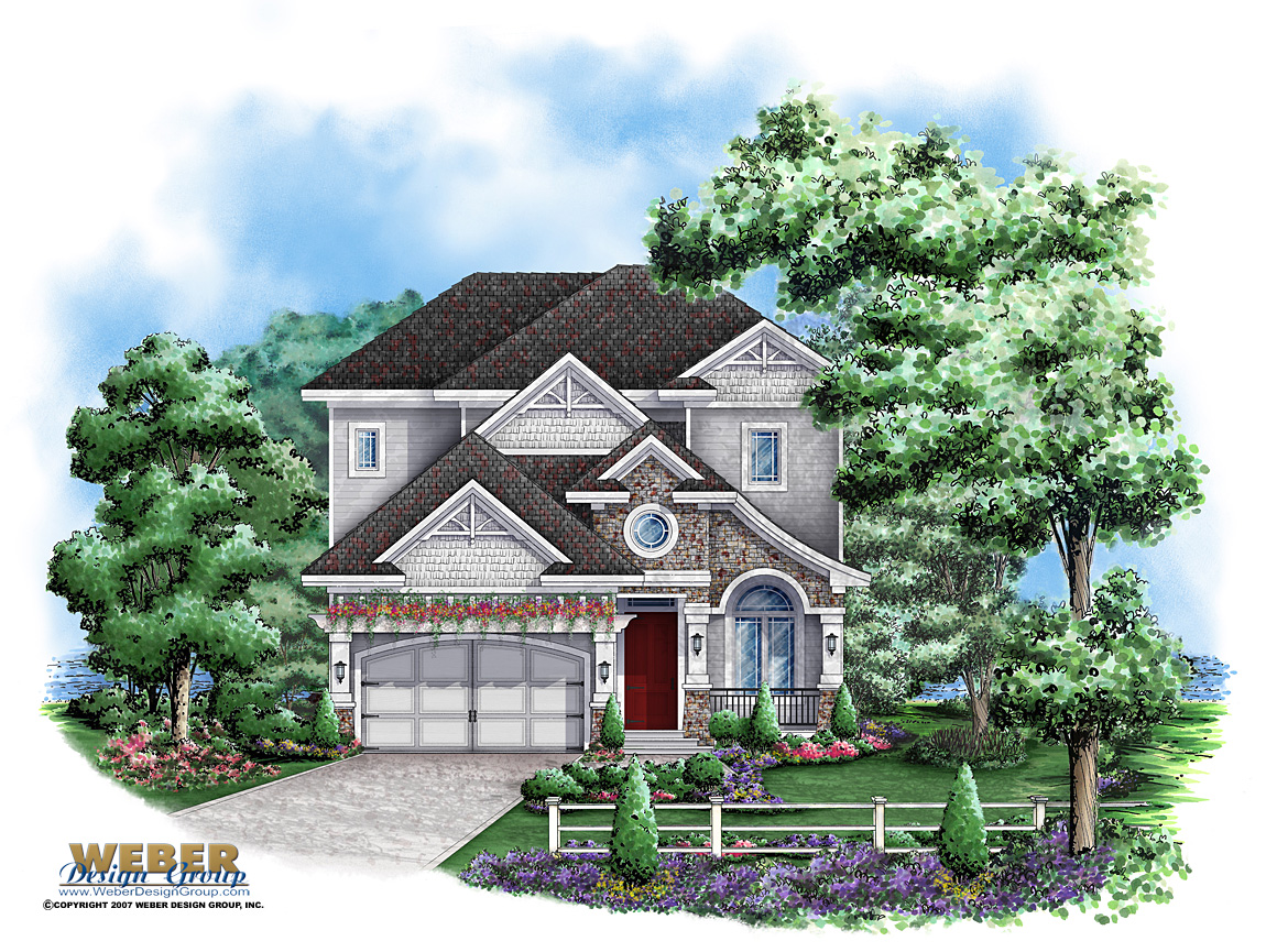 Diamond lake house plan weber design group naples fl for Weber house plans