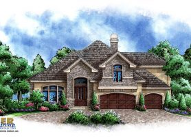 Stone Manor II House Plan