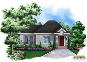 Diamond Lake Cottage Home Plan