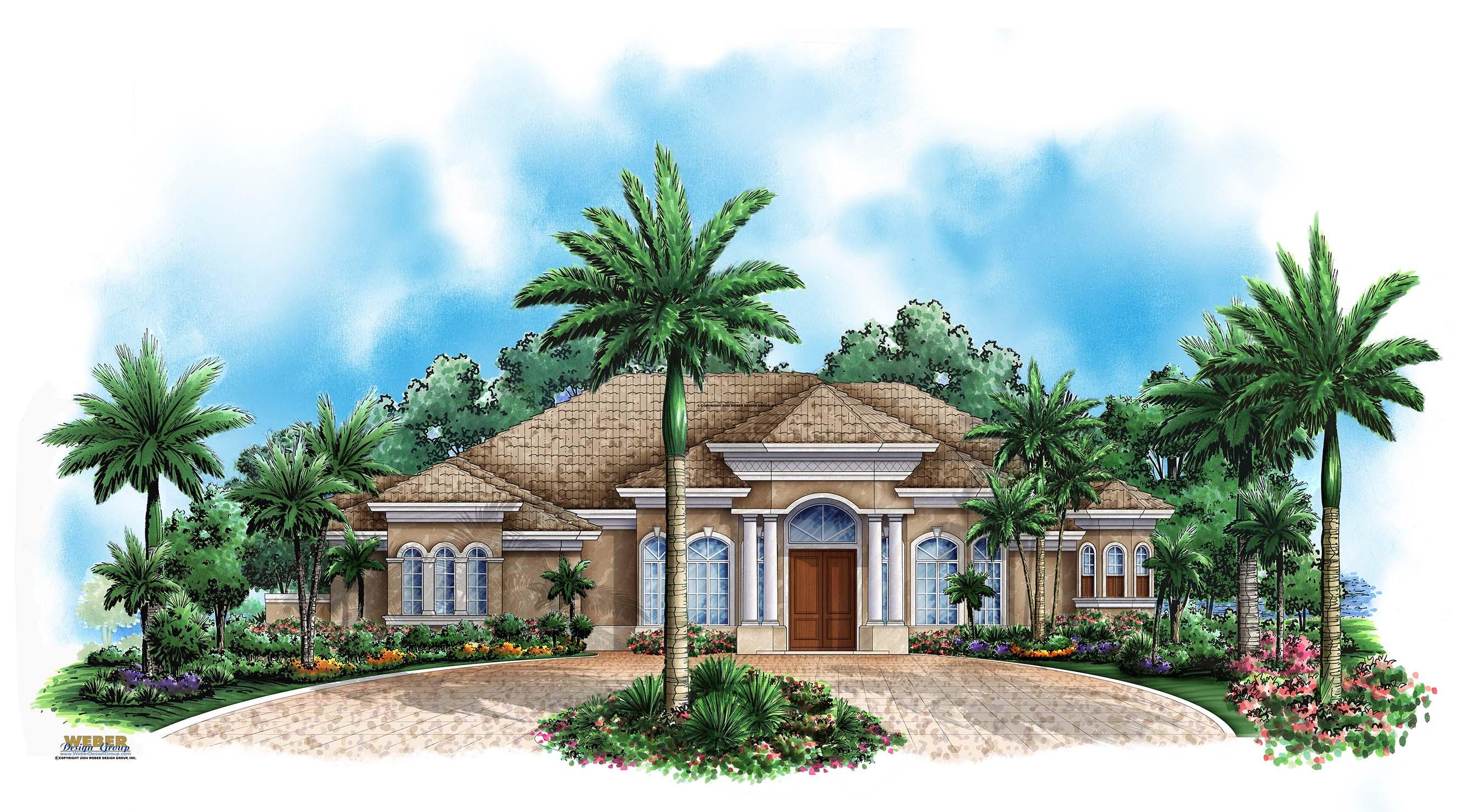 mediterranean house plans - luxury modern floor plans (with photos)