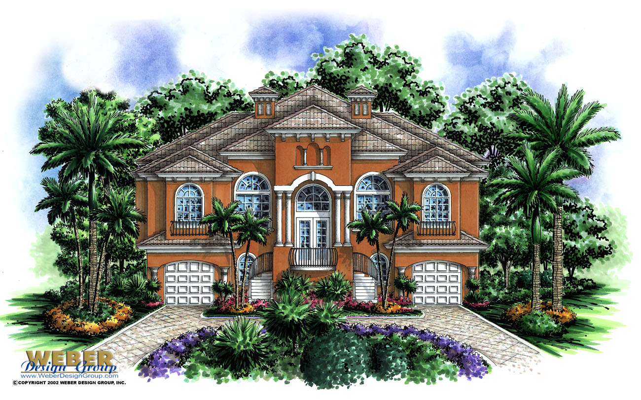 waterfront house plans with photos unique cottages luxury mansions dos palmas home plan