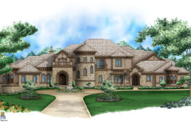 Tuscany Isle House Plan