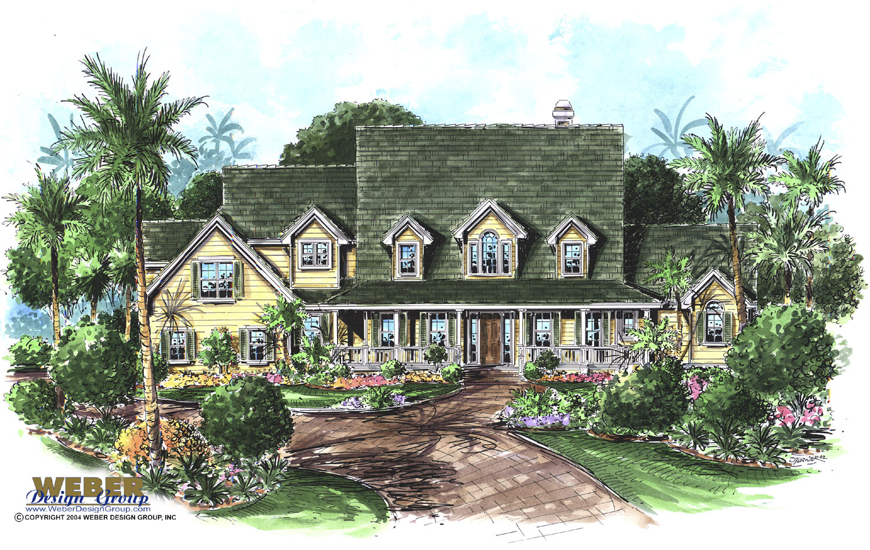 Caldwell Home Plan - Weber Design Group