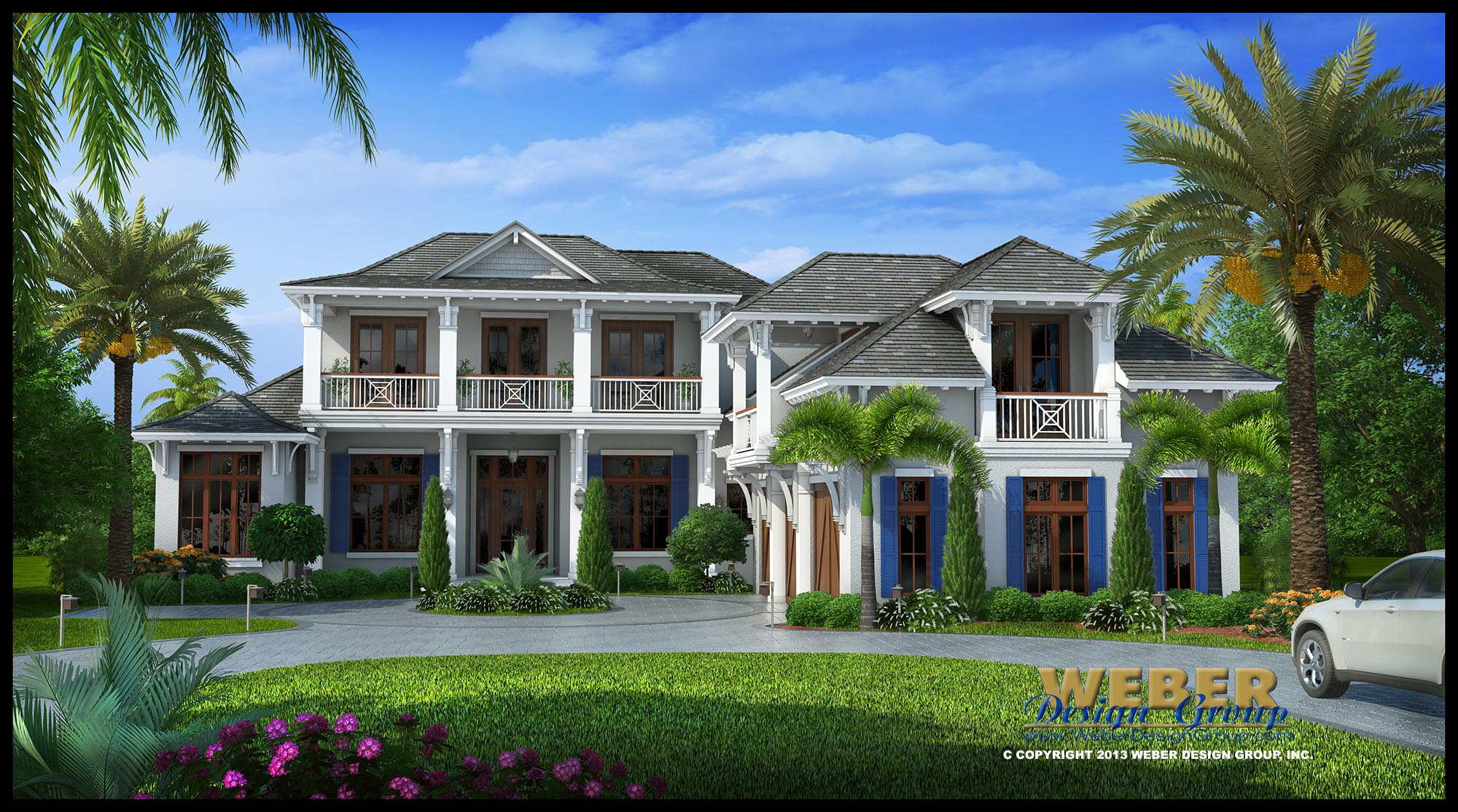 Contemporary west indies house plan villa veletta house for British west indies architecture