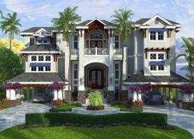 Caribbean Isle House Plan