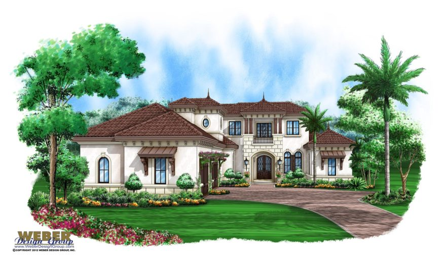 House plans home plan details exquisite waterfront for Exquisite home designs