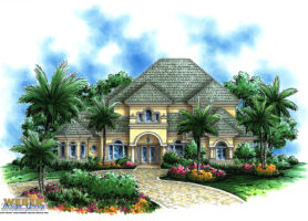 Rum Cay House Plan