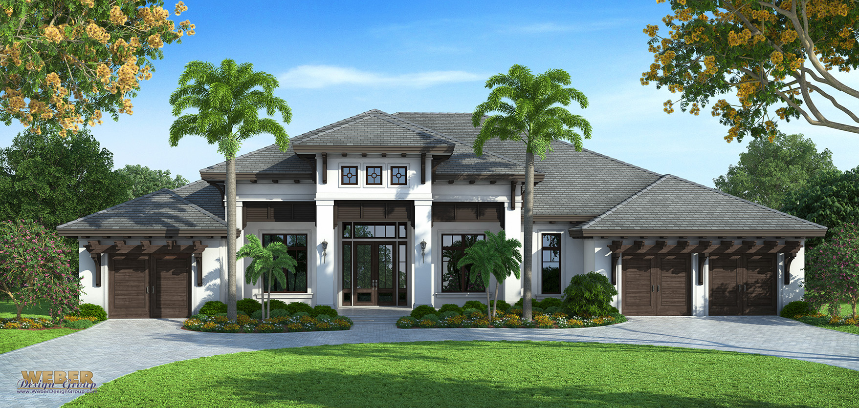 Caribbean house plans caribbean style architecture for Stock home plans