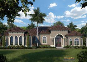 Villa Siena II House Plan