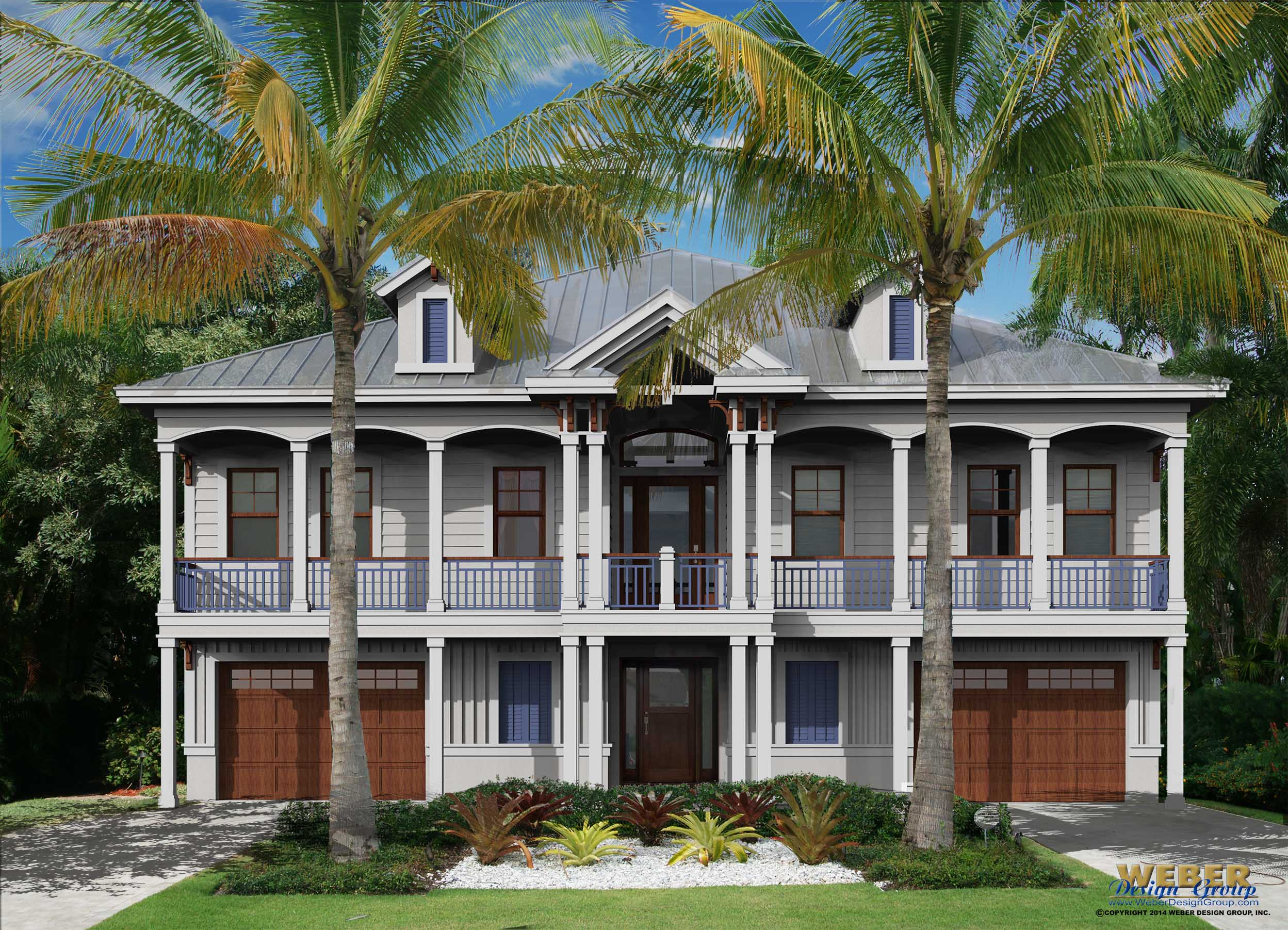 coral bay house plan - Waterfront House Plans