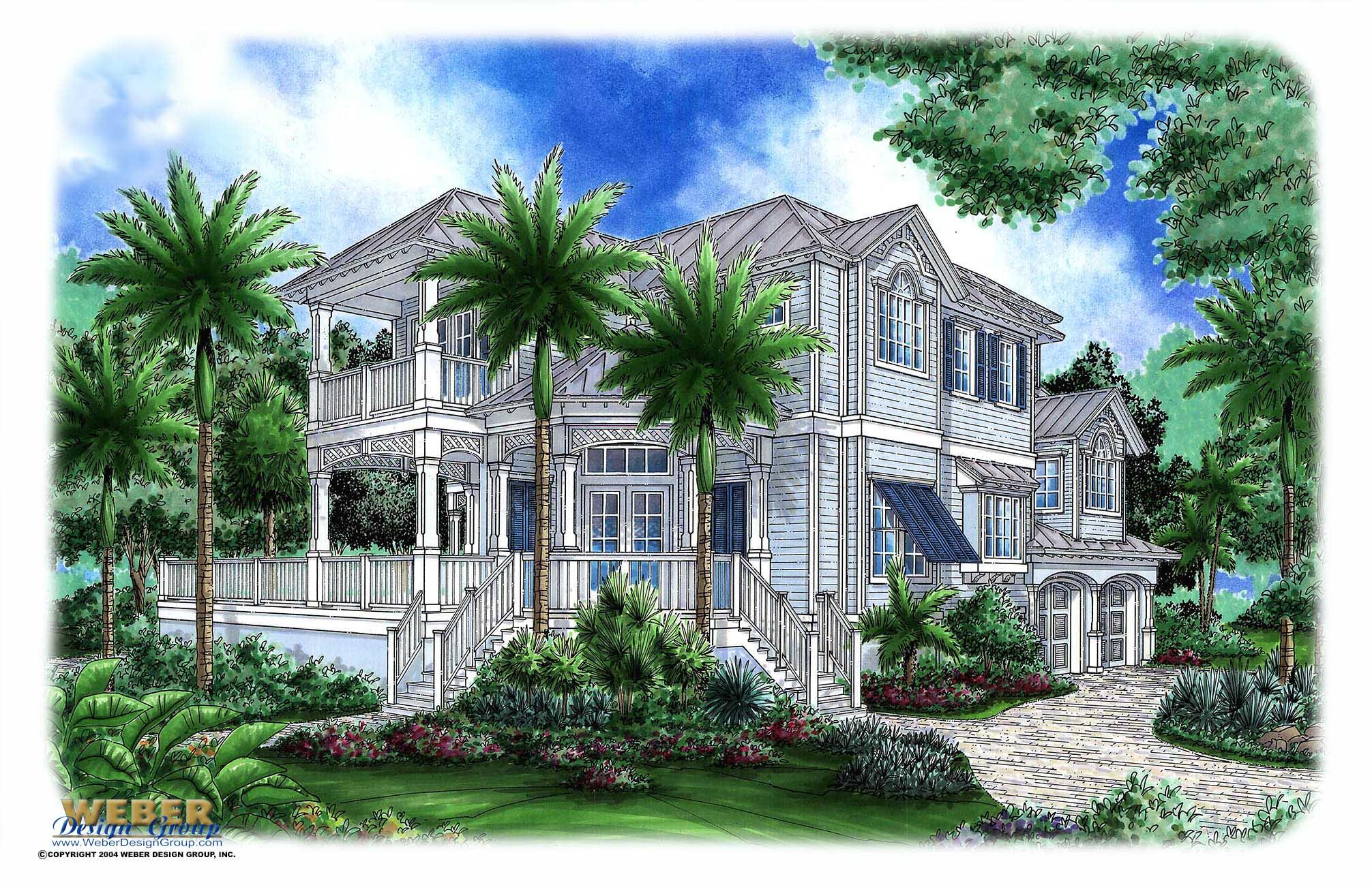 siesta key house plan