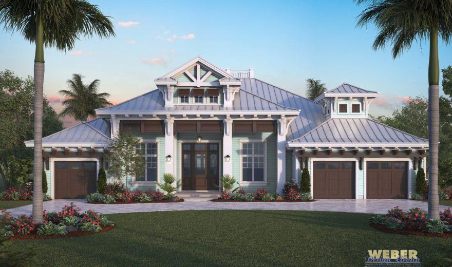 Beach House Plan Luxury Caribbean Beach Home Floor Plan