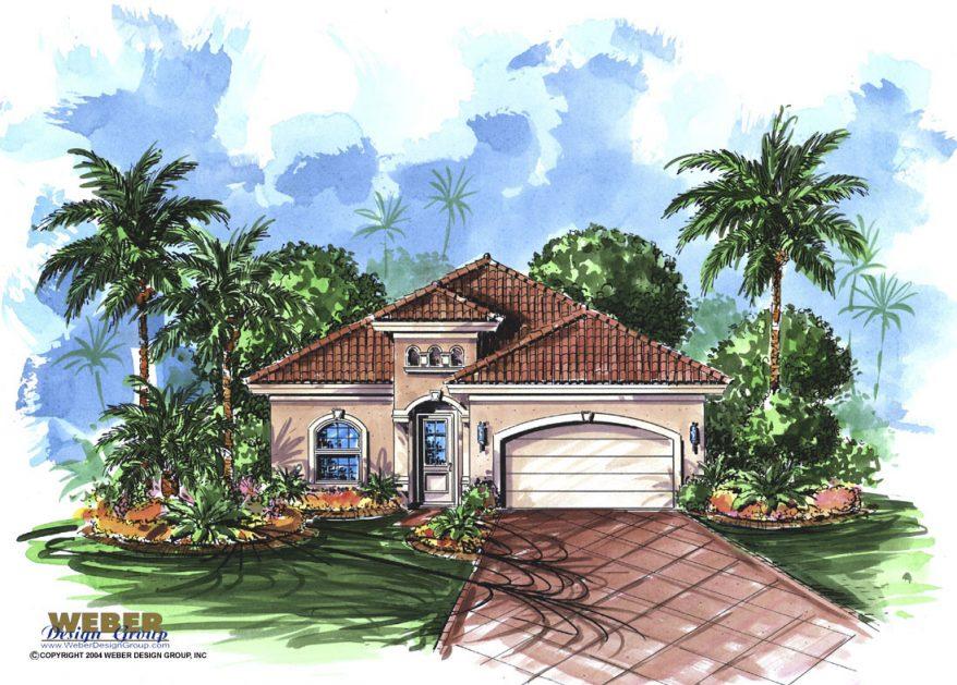 Trinidad House Plan Weber Design Group Naples Fl