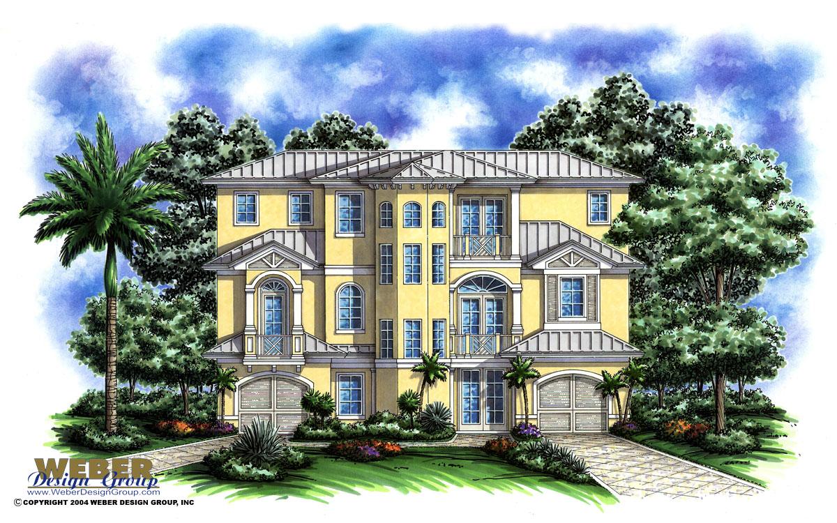 port antigua home plan - weber design group, inc.