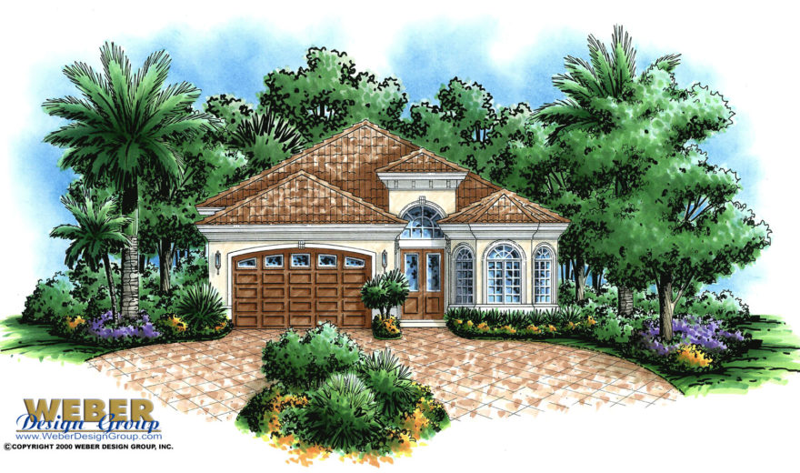 Corsica home plan weber design group naples fl for Weber house plans