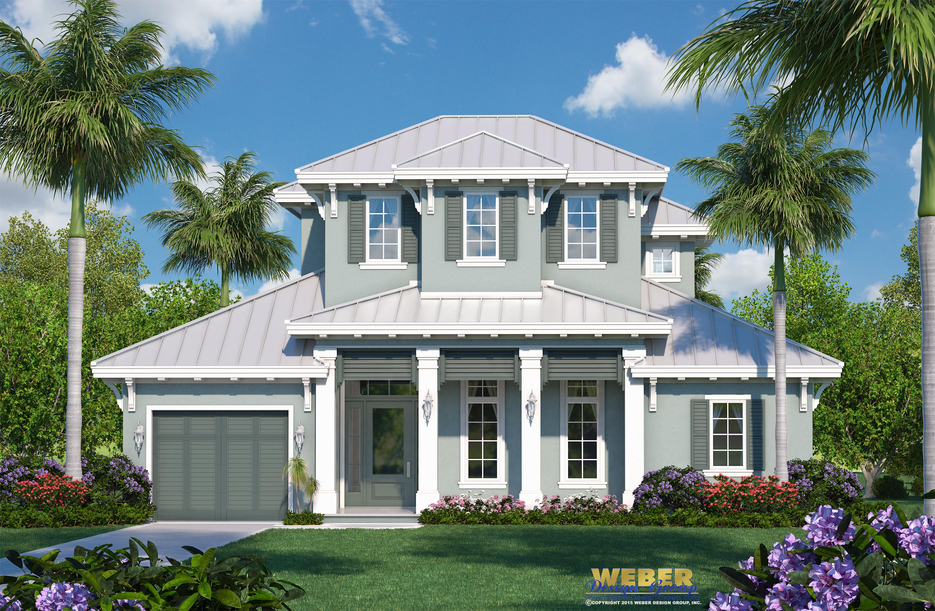 the tybee island model is a two story beach house plan that offers an easy breezy florida coastal architectural style and an open layout that flows - Florida Coastal House Plans
