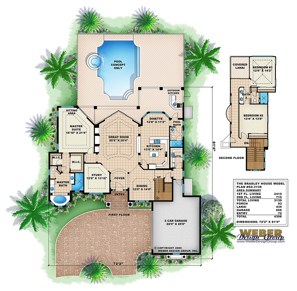 100 weber design group home plans one story beach for Weber house plans