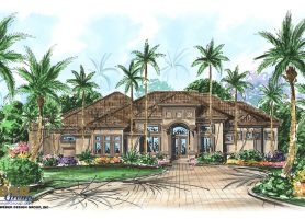 Dalt Vila House Plan