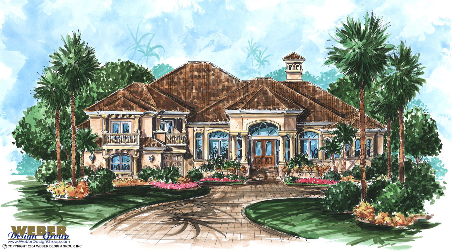 Tuscan House Plans: Stock Mediterranean & Tuscan Old World Style