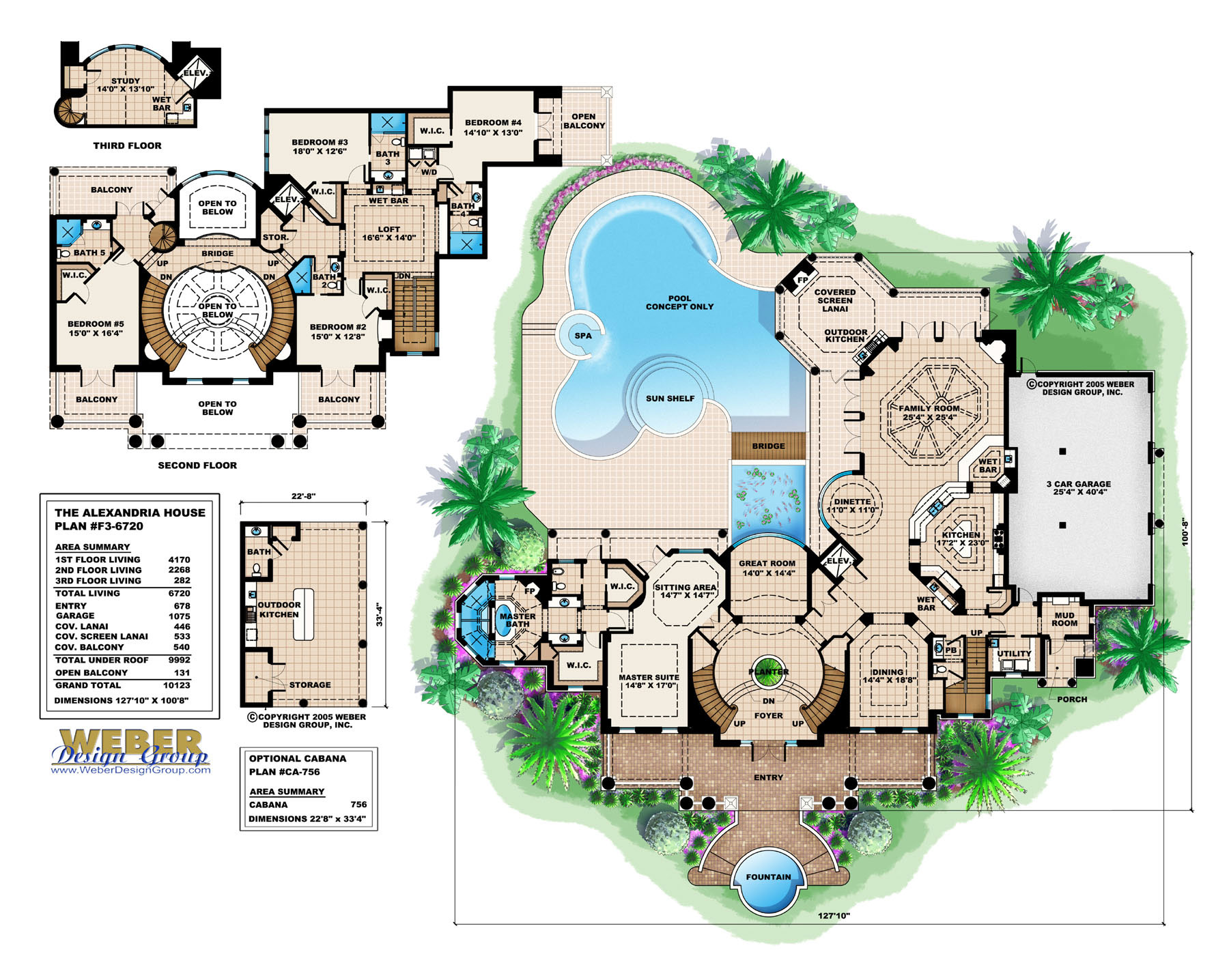 Pool House Plans Weber Design Group Inc Stock Pool Home