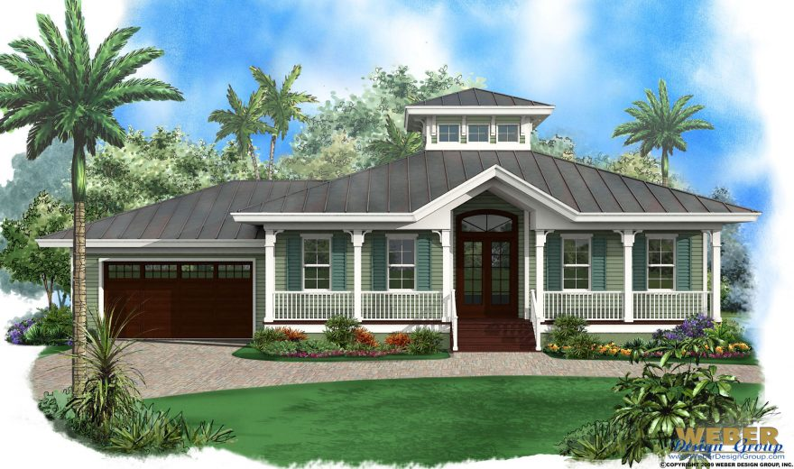 Beach House Plan Old Florida Cracker Style Beach Home