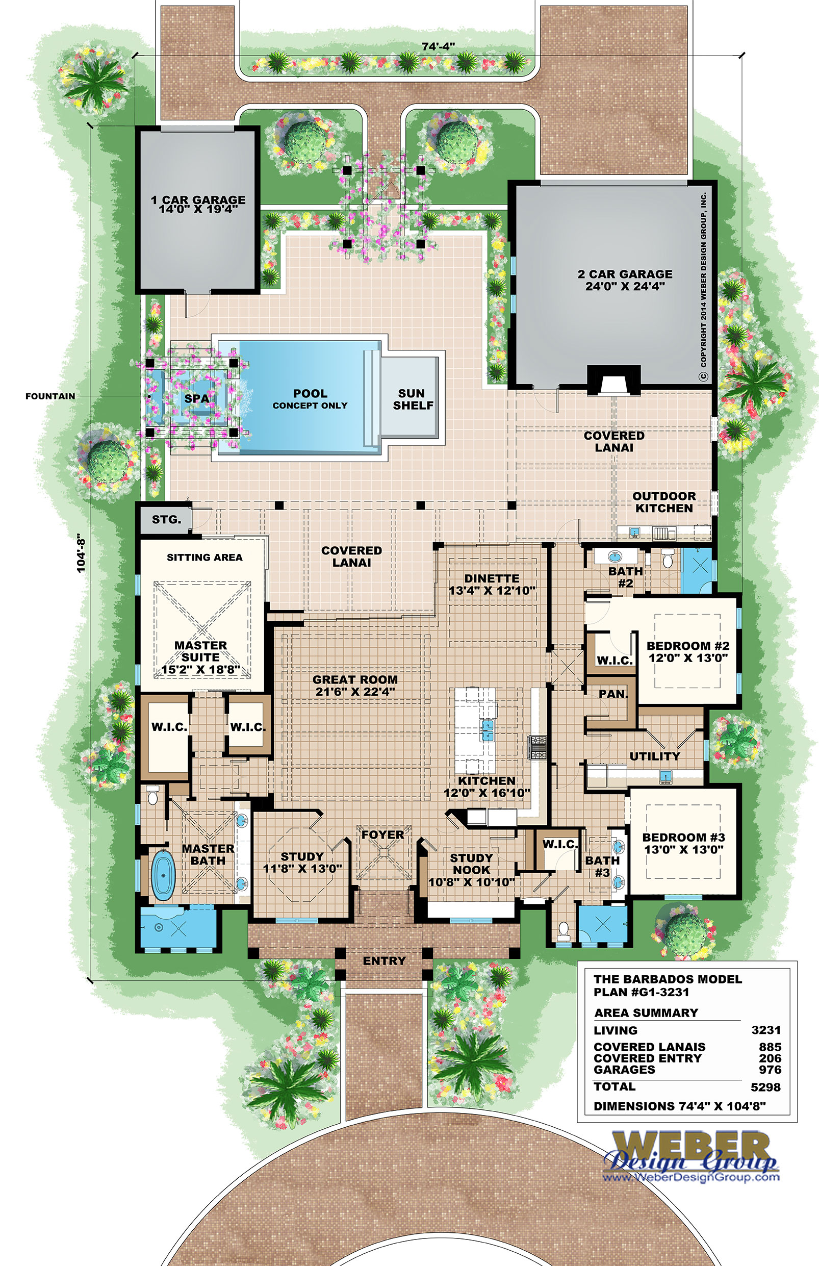Beach House Plan Old Florida Coastal & West In s Style Floor Plan