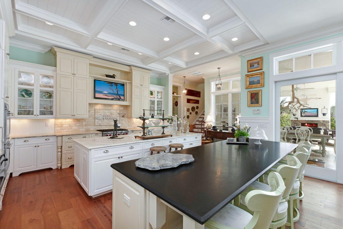 West indies style home weber design group inc naples palm beach fl architects - Coastal kitchen design ...