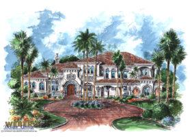 La Casa Del Sol House Plan