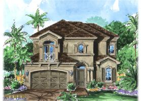 Ravello House Plan