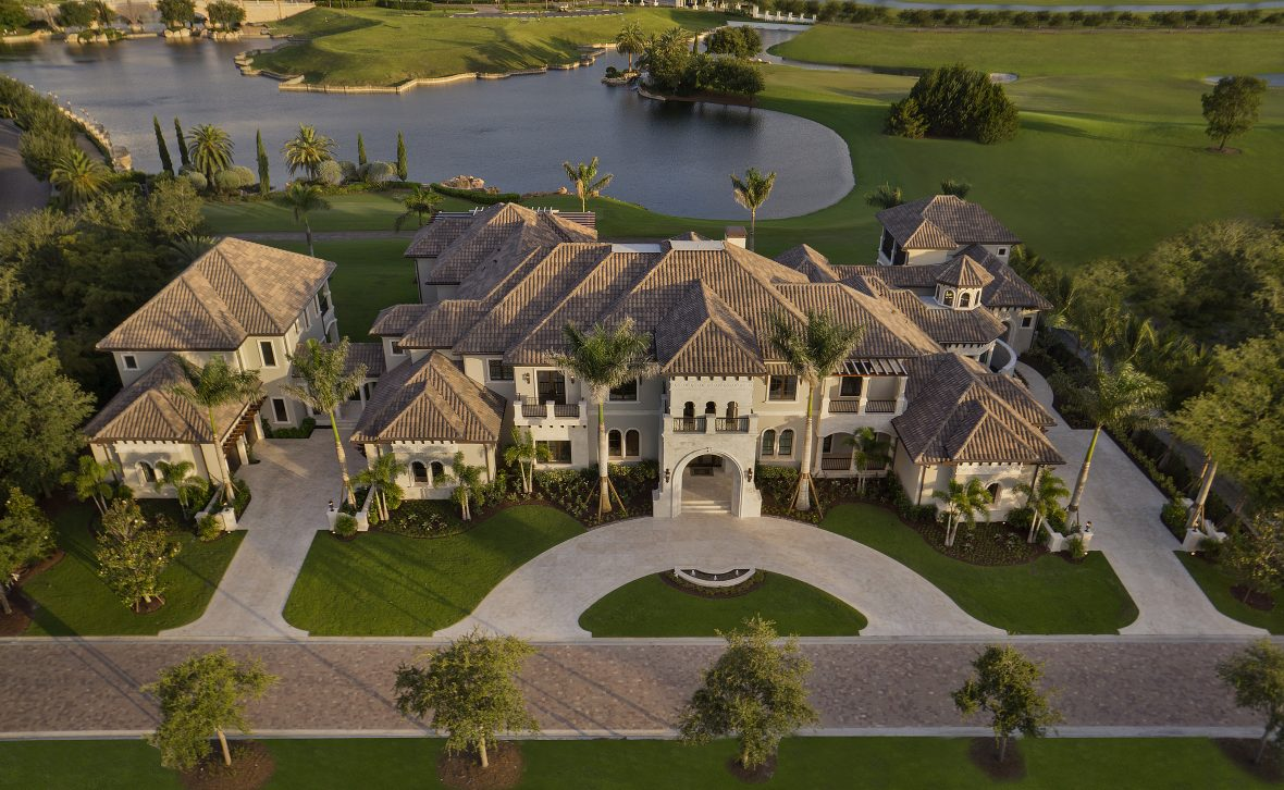 Golf Course Home Plan Photos Of This 20 000 Sq Ft