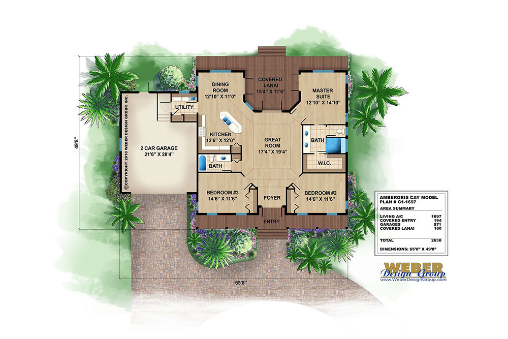 Olde Florida Home Plans, Stock/Custom Old Florida \