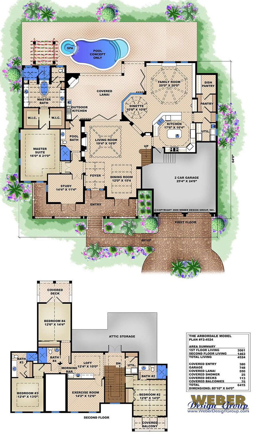 Coastal House Plan Old Florida Style Key West Home Floor Plan