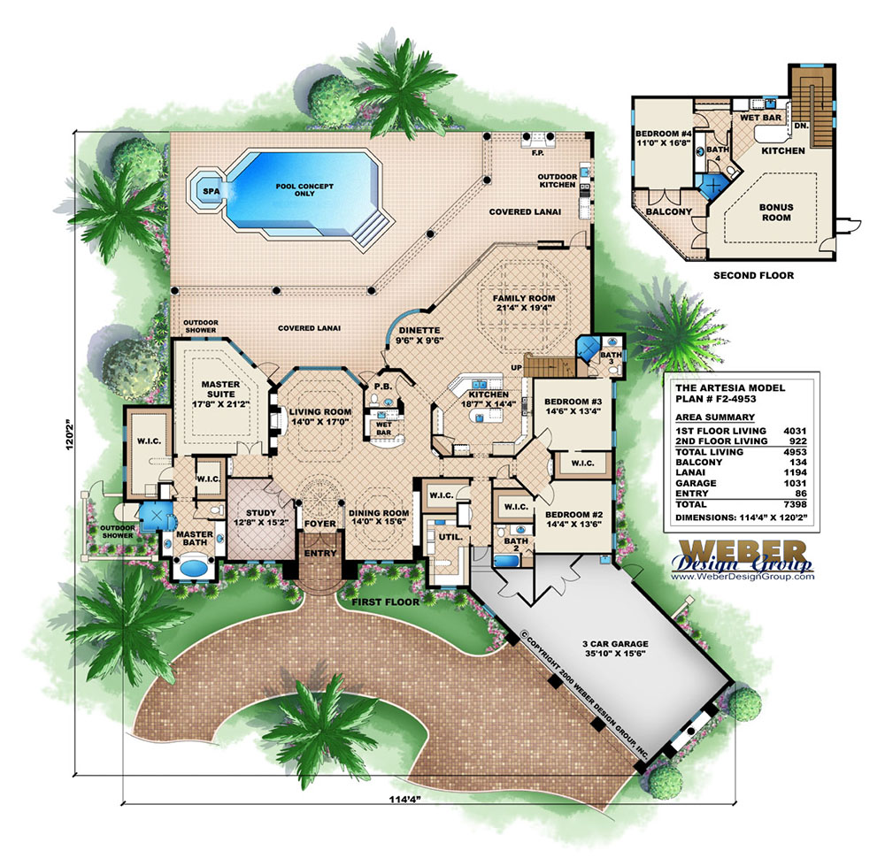 Mediterranean House Plans mediterranean house plans Artesia House Plan