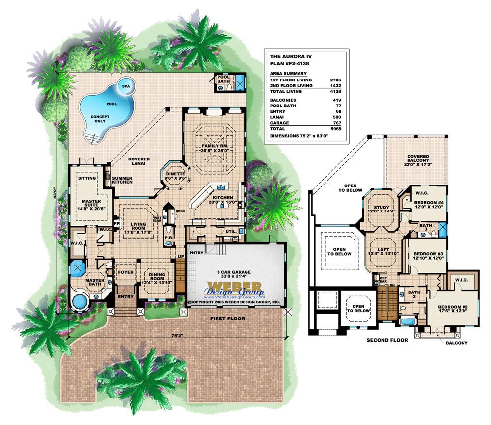 mediterranean house plans with photos luxury modern floor plans aurora ii house plan
